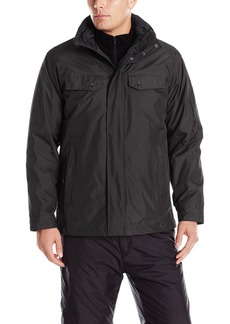 IZOD Men's 3-In-1 Rip-Stop Systems Jacket  Medium