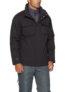 IZOD Men's 3-In-1 Water and Wind Resistant Systems Jacket  L