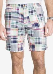 """Izod Men's 9.5"""" Mariner Madras Shorts"""