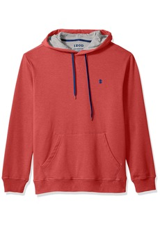 IZOD Men's Advantage Performance Long Sleeve Fleece Hoodie