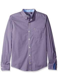 IZOD Men's Advantage Performance Non Iron Stretch Long Sleeve Shirt   Slim