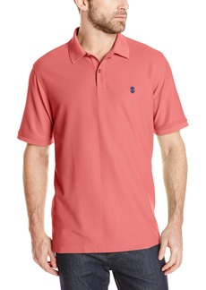 IZOD Men's Advantage Performance Solid Polo Rapture Rose