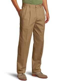 IZOD Men's American Chino Pleated Pant