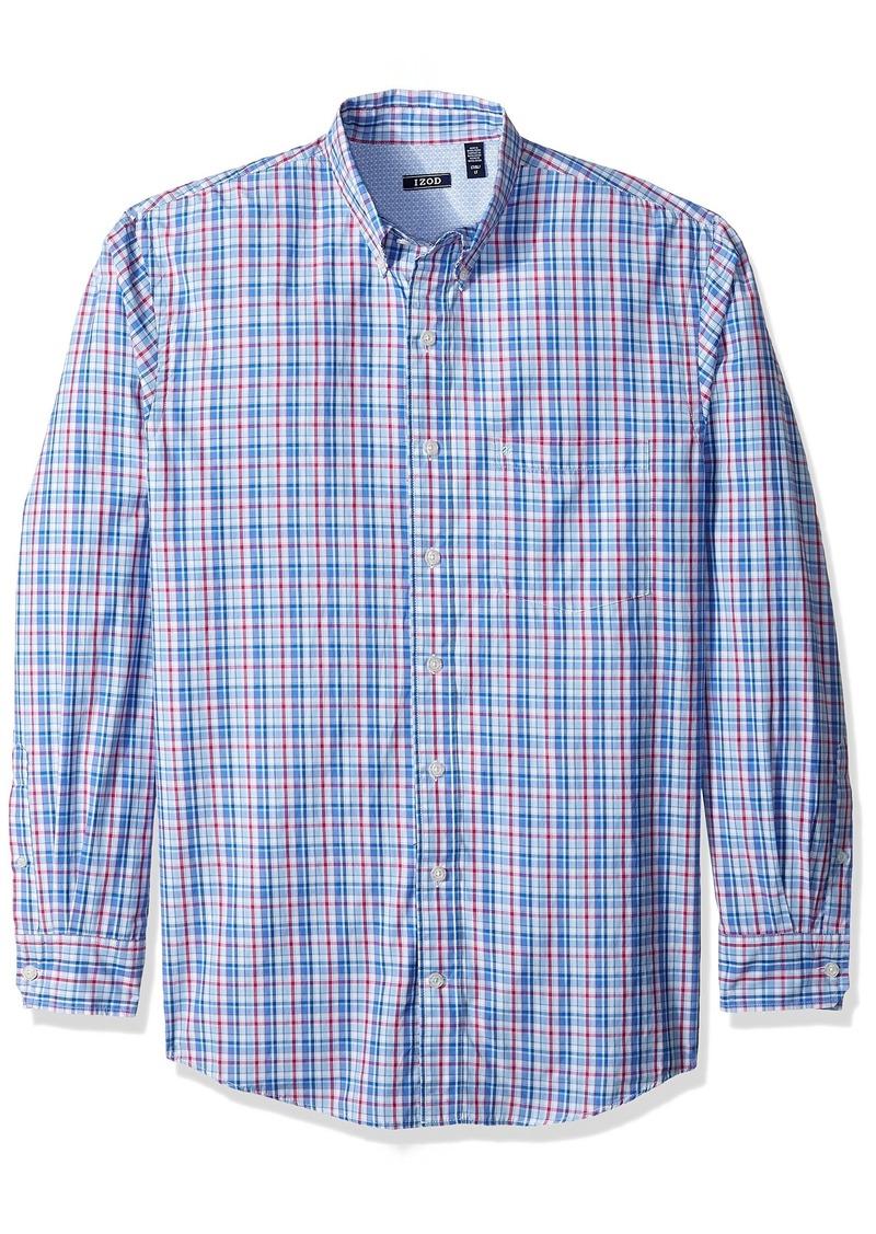 0fefdb9c Izod IZOD Men's Big and Saltwater Breeze Long Sleeve Shirt Large ...