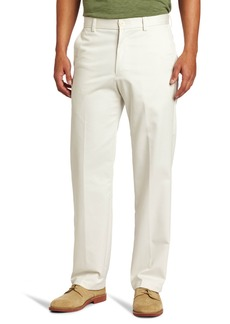 IZOD Men's Big and Tall Flat Front Extended Twill Pant
