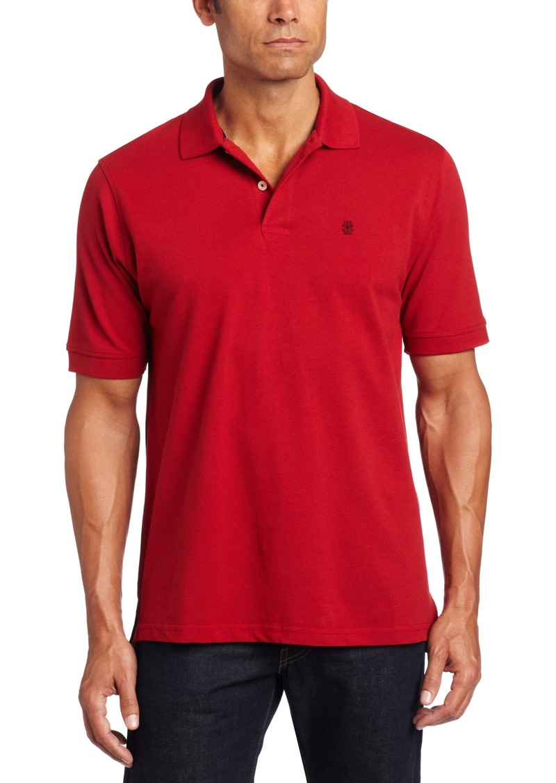 Izod izod men 39 s big and tall heritage short sleeve polo for Big and tall casual shirts