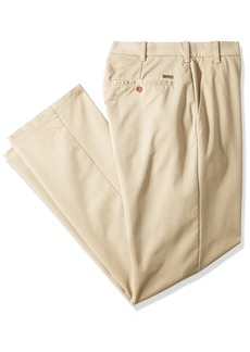 IZOD Men's Big and Tall Performance Stretch Flat Front Pant  52W X 32L