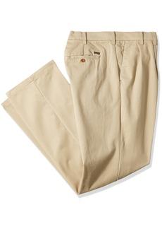 IZOD Men's Big and Tall Performance Stretch Pleated Pant  50W X 30L