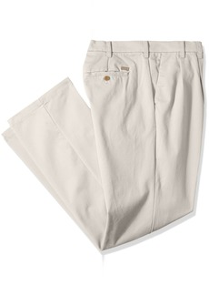 IZOD Men's Big and Tall Performance Stretch Pleated Pant  54W X 30L