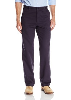 IZOD Men's Saltwater Chino Straight Fit Flat Front Stretch Pant