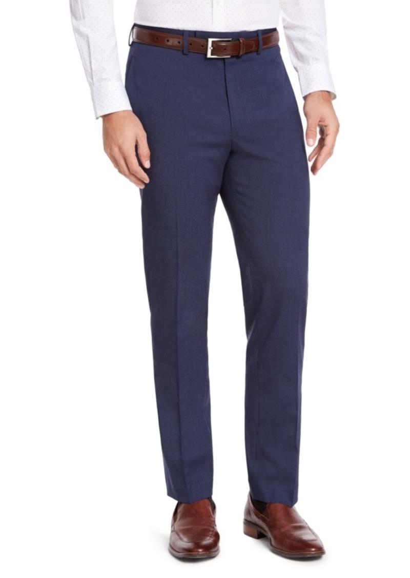 Izod Men's Classic-Fit Medium Blue Suit Pants