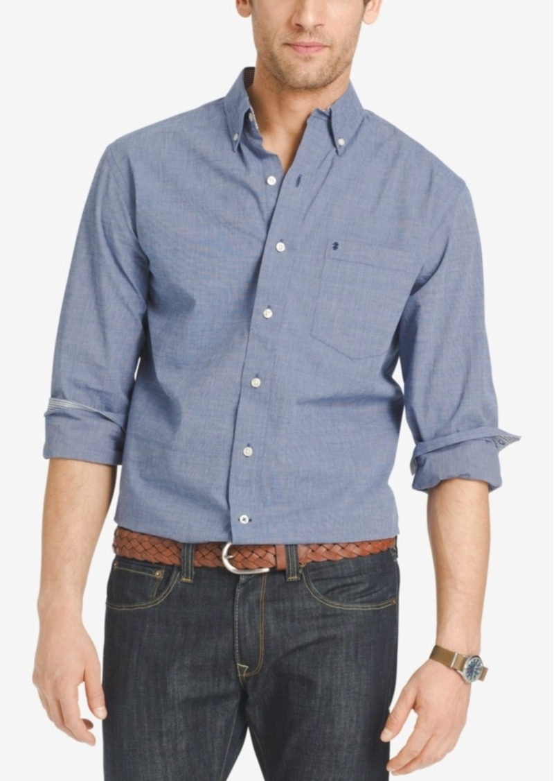 Izod Men's Classic Long-Sleeve Shirt