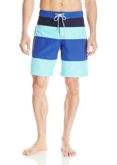 IZOD Men's Colorblocked Swim Board Short