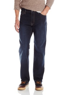 Izod Men's Comfort Stretch Relaxed Fit Jean  42x32