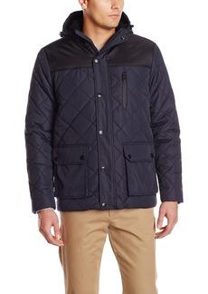 IZOD Men's Diamond Puffer Jacket