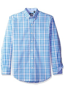 IZOD Men's Essential Plaid Long Sleeve Shirt