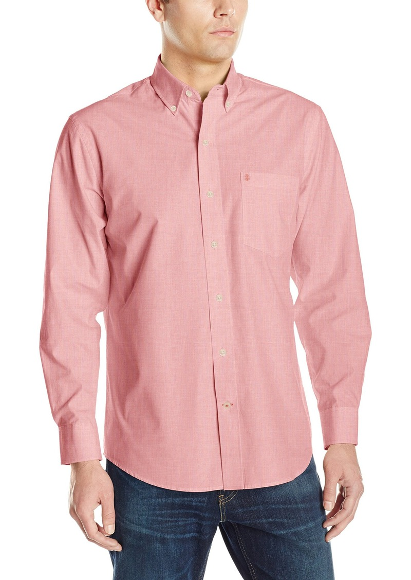 Izod izod men 39 s essential solid long sleeve shirt 2x large for Izod big and tall essential solid shirt