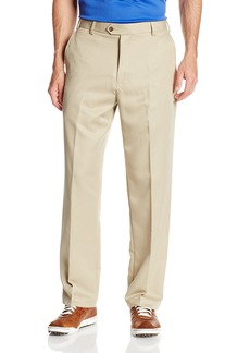 IZOD Men's Flat Front Classic Fit Microsanded Golf Pant