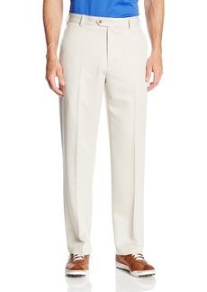 IZOD Men's Flat Front Classic Fit Microsanded Golf Pant