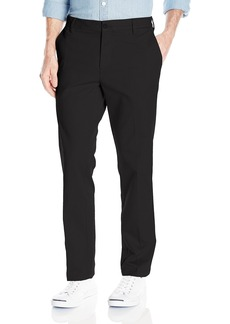 IZOD Men's Flat Front Slim Fit Performance Stretch Chino Pant