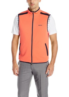 IZOD Men's Full-Zip On The Course Reversible Golf Vest