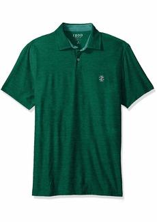 IZOD Men's Golf Title Holder Short Sleeve Polo