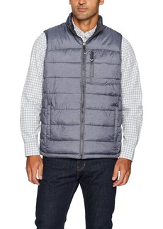 IZOD Men's Insulated Reversible Vest with Rip Stop Fabric  XXL