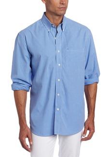 IZOD Men's Essential Check Long Sleeve Shirt