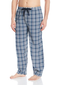 IZOD Men's Microsanded Yarn-dye Broadcloth Sleep Pant