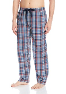 IZOD Men's Microsanded Yarn-Dye Broadcloth Sleep Pant