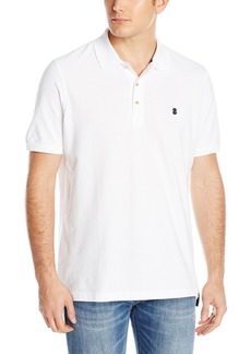 IZOD Men's Newport Oxford Solid Short Sleeve Polo