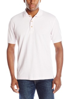 IZOD Men's Newport Oxford Solid Short Sleeve Polo