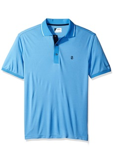 IZOD Men's Oxford Golf Solid Short Sleeve Polo