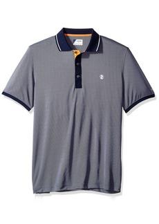 IZOD Men's Oxford Golf Solid Short Sleeve Polo