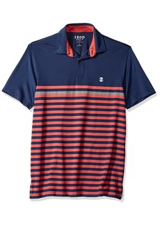 IZOD Men's Performance Golf Polo red