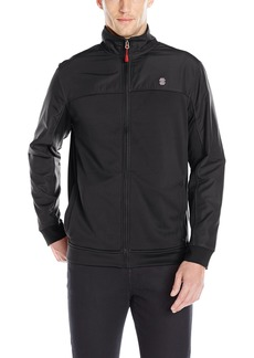 IZOD Men's Performance Mixed Media Jacket