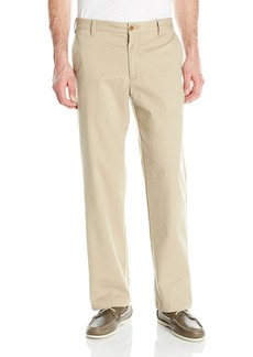 IZOD Men's Performance Stretch Classic Fit Flat Front Chino Pant