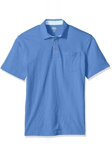 IZOD Men's Saltwater Chest Pocket Slub Polo