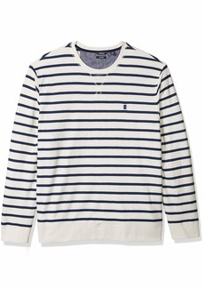 IZOD Men's Saltwater Crew Long Sleeve Shirt