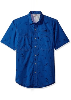 IZOD Men's Saltwater Easy Care Fishing Short Sleeve Shirt