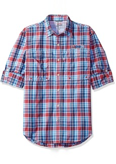 IZOD Men's Saltwater Easy Care Long Sleeve Shirt