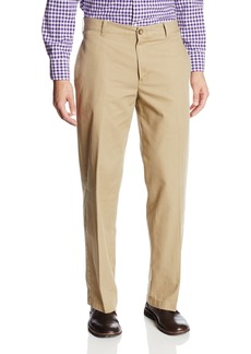 IZOD Men's Saltwater Flat Front Classic Fit Chino Pant