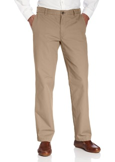 IZOD Men's Saltwater Flat Front Slim Fit Chino Pant
