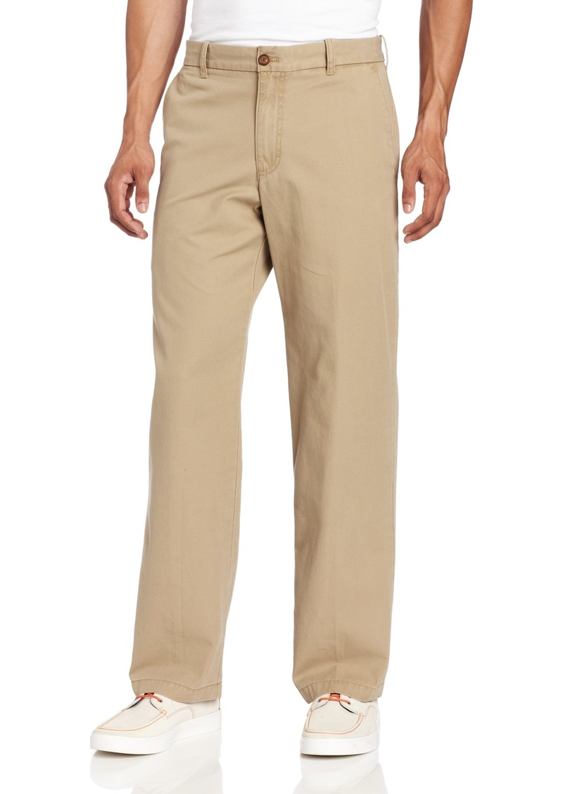 480869adf1ab6a Izod IZOD Men's Saltwater Flat Front Straight Fit Chino Pant Now $26.11