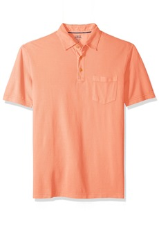 IZOD Men's Saltwater Pigment Polo