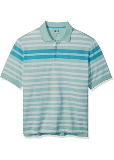 IZOD Men's Short Sleeve Advantage Stripe Polo (Big Tall Slim)  2X-Large