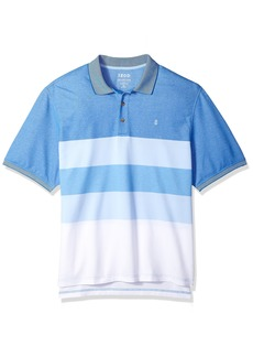 IZOD Men's Short Sleeve Advantage Stripe Polo (Big Tall Slim) Clear air X-Large