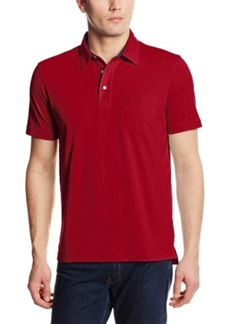 Izod izod men 39 s short sleeve chest pocket jersey polo for Men s polo shirts with chest pocket