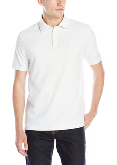 IZOD Men's Short-Sleeve Feeder-Stripe Interlock Polo Shirt