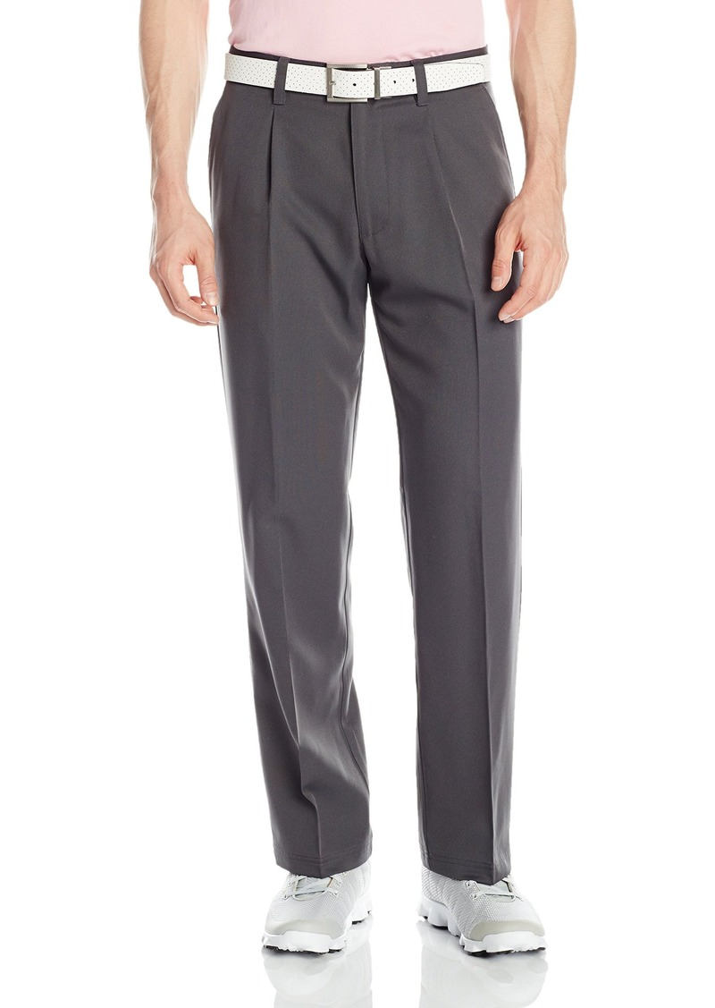 Izod IZOD Men's Single Pleat Textured Solid Golf Pants | Casual ...